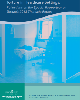 Cover of Torture in Healthcare Settings publication